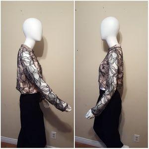 77d163c45d Wayf Tops - Wayf Mina Cropped Lace Top Size XL